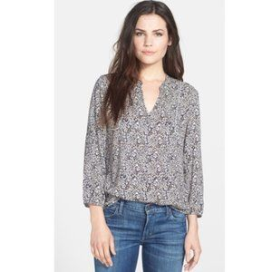 Lucky Brand Ditsy Floral Blouse sz S
